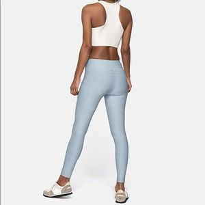 OUTDOOR VOICES blue yoga pant leggings